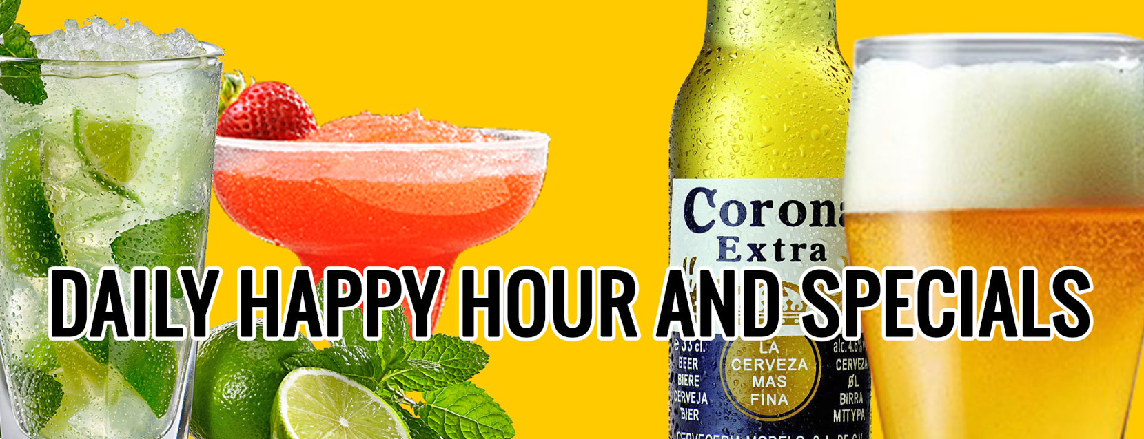 Daily Happy Hour and Specials