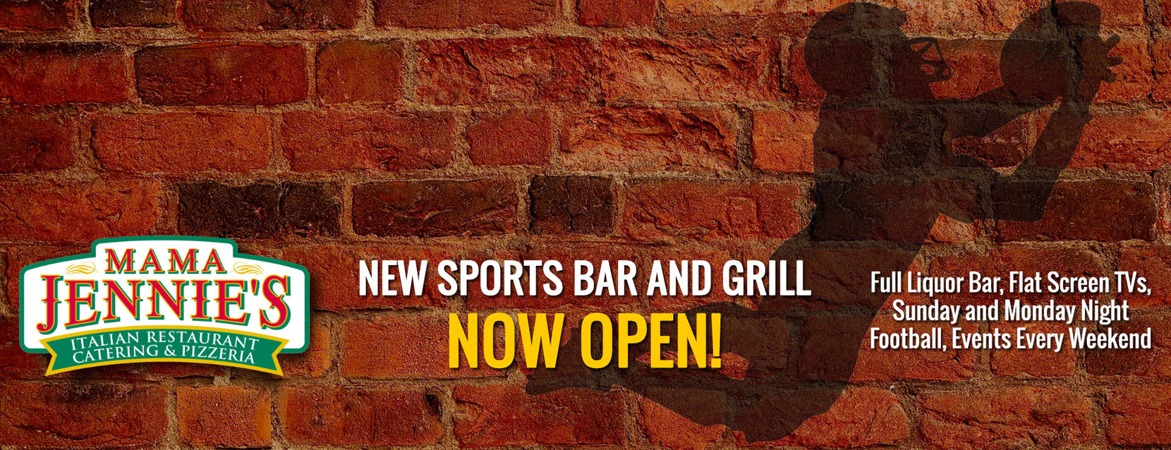 New Sports Bar and Grill Now Open!